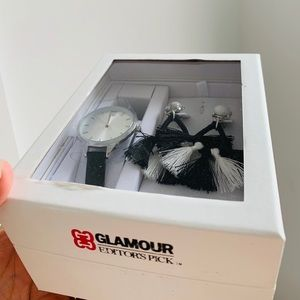 Accessories - GLAMOUR Editor's Pick Watch & Earrings Set